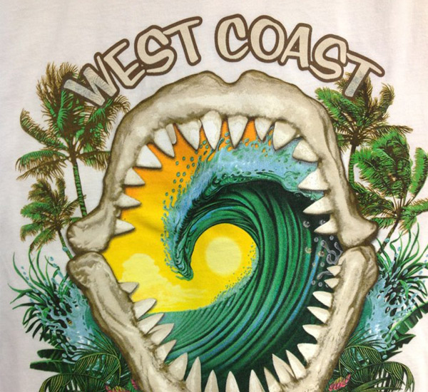 West Coast Surf Shop in Anna Maria Island Florida