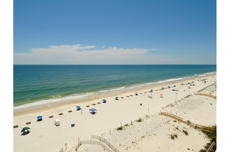 You can see for miles from Westwind Condominiums in Gulf Shores Alabama