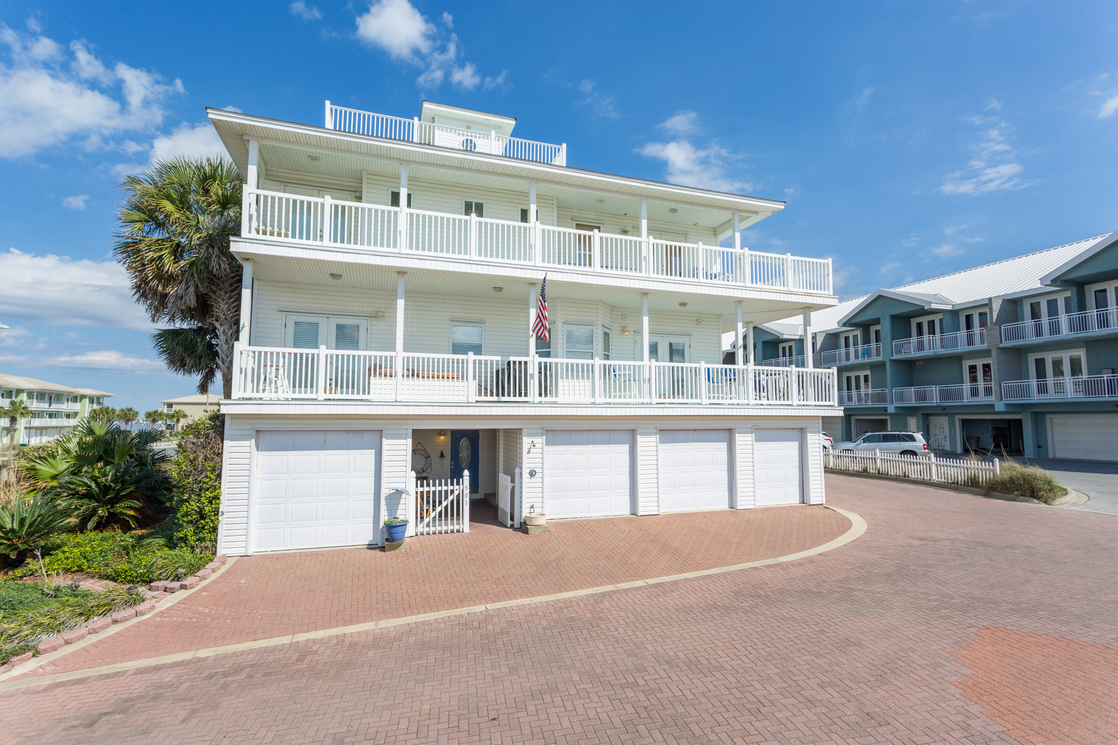 White Sands Cottage 501 Life's a Beach House Townhouse rental in White Sands Pensacola Beach in Pensacola Beach Florida - #1